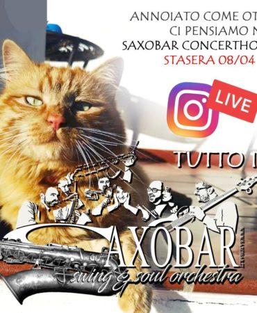 Saxobar live su Instagram 